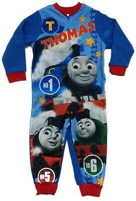 Official Tomas & Friends All In One Fleece Boys Kids Childrens Character 2 3 4 5