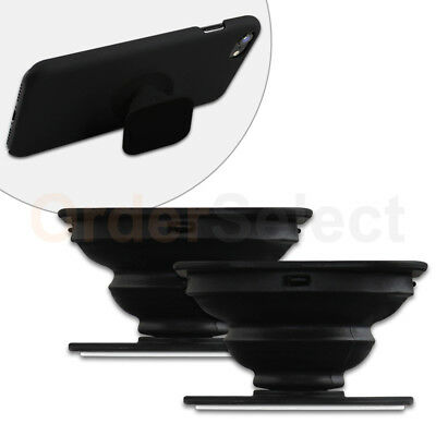2 Universal PULL OUT-UP Phone Stand Expand Grip Tablet Holder Square Mount Stand