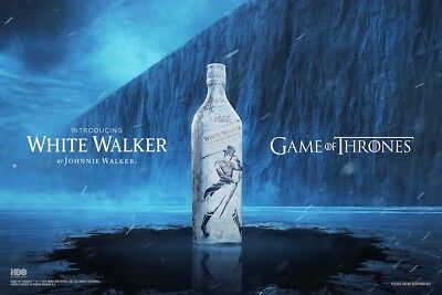 Johnnie Walker The White Walker Special Edition Game of Thrones HBO