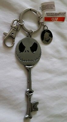 Disney Jack Skellington Nightmare Before Christmas Keychain W/ Oogie Boogie NWT