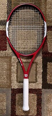 Wilson Six One Team Tennis Racquet - 4 1/4 - Near New Condition