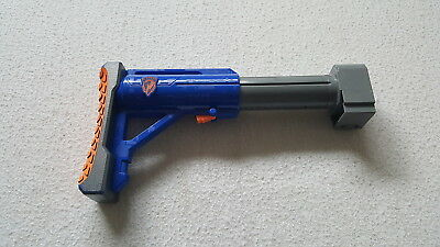 Nerf N-strike Raider CS-35  Blue Adjustable Tactical Stock Attachment