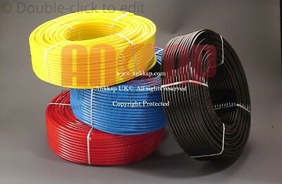 Polyurethane Flexible Tubing Pneumatic PU Compressed Air Hose Pipe Plastic Tube
