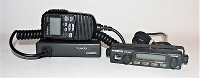 GME 40 Channel Remote Head UHF CB Radio TX3400 + Uniden Mic RM100 #290156