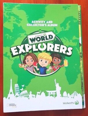 Woolworths World Explorers Collectible Album