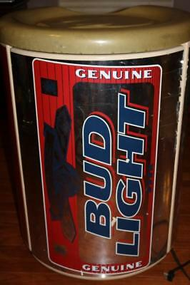 VINTAGE 90s ABSOCOLD BUD LIGHT REFRIGERATOR BEER CAN MINI FRIDGE FREEZER RARE