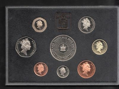 UK Great Britain 1993 pence pounds 1 2 5 10 50 PROOF