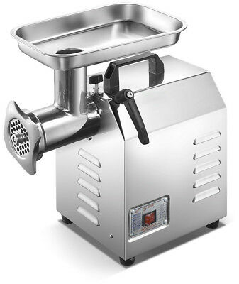 Commercial Meat Mincer Grinder Butchers Quality Heavy Duty 220kg Per Hour