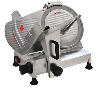 "Commercial Electric Meat Food Slicer Deli Butcher 300mm 12"" Blade Cheese"