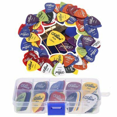 20/50/100 Pcs Acoustic Electric Bass Guitar Picks Plectrums Various 6 thickness