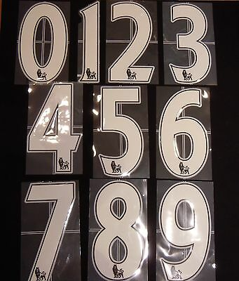Premier League Numeri Premier League Numbers Kit Player Size