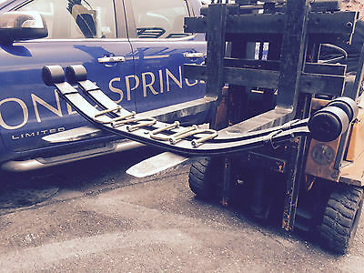 Ford Transit Rwd Mk 7 (2007-13) 2 Leaf Heavy Duty 75Mm Wide Springs X 2