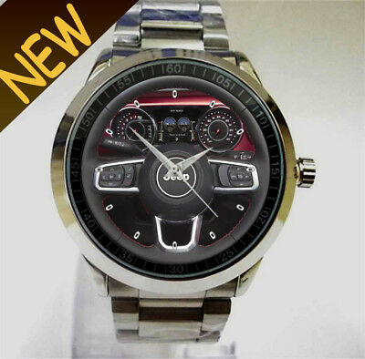 2018 Jeep Wrangler JL Interior Steering Wheel Accessories Sport Watch