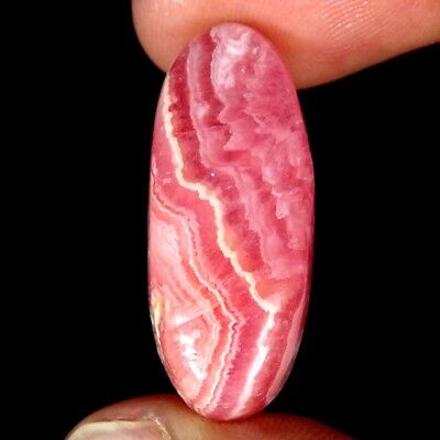 25.60Cts 100% Natural Pink Rhodochrosite Oval Cabochon Loose Gemstone