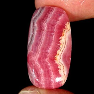 34.60Cts 100% Natural Pink Rhodochrosite Cushion Cabochon Loose Gemstone