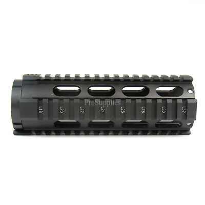"7"" Inch Super Slim Light KEYMOD Aluminum FREE FLOAT Handguard Nut .223"