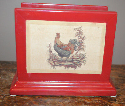 Nice Blonder Homes Expressions Provencal Rooster Napkin Holder  Marty Joseph