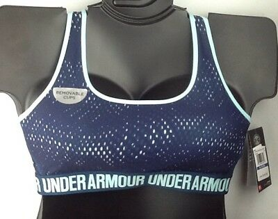 f8d6497b72c39 NWT XL UNDER ARMOUR Women s Compression Mid-Impact Crossback Sports Bra  1310666