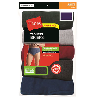 5291d64b6d5d Hanes Men's Tagless® No Ride Up Boxer Briefs with Comfort Soft® Waistband 5  Pack