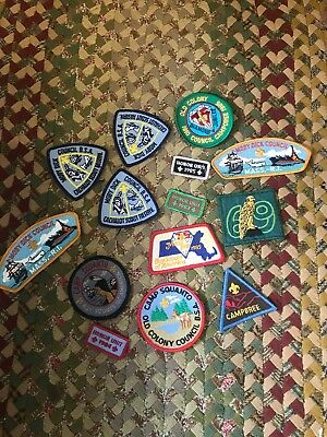 Lot Of Bsa Boy Scouts Of America Patches