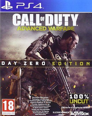 Call Of Duty : Advanced Warfare Ps4 - comme Neuf - Super Gratuit