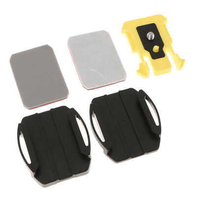 VCT-AM1 for Sony Action Cameras Adhesive Mount (Flat&Curved ) Black+Stickers