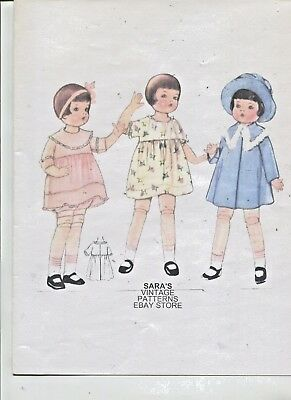 Vintage-1930's -18 In.- Adorable  Doll- Wardrobe- Pattern -# 3