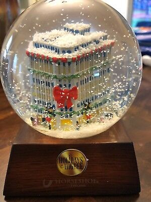 Holiday At Higbee Cleveland Department Store SnowGlobe - Jack Casino Giveaway