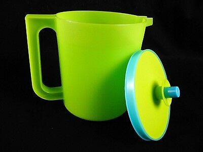 Tupperware Pitcher with Push Button Lid New Green
