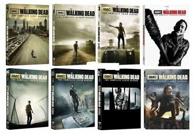 THE WALKING DEAD The Complete Seasons 1-8 BRAND NEW FACTORY SEALED