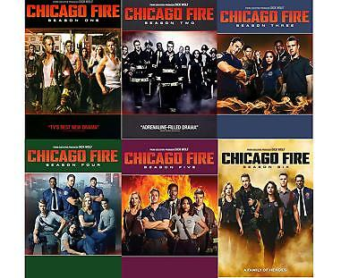 CHICAGO FIRE The Complete Seasons 1-6 BRAND NEW FACTORY SEALED