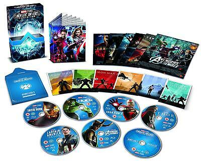 Marvel Cinematic Universe Phase One 1 [Blu-ray] Collector's Edition 6-Movie Set