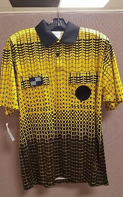 843d4fe9c7b OFFICIAL SPORTS NISOA Coolwick SS Grid Jersey GOLD -  33.99