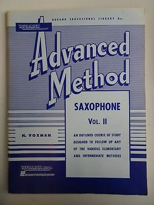 Rubank Advanced Method für Saxophon Vol. II