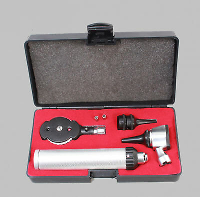 Professional Physician OPHTHALMOSCOPE OTOSCOPE DIAGNOSTIC SET and 2 FREE BULBS