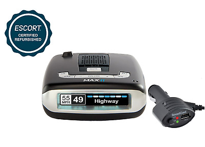 ESCORT MAX II Platinumn Radar Laser Detector (Refurbished) - 180 Day Warranty