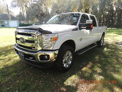 2016 Ford F-250 Lariat 2016 Ford F250 Super Duty 4x4 Diesel Low Miles, Mint Condition
