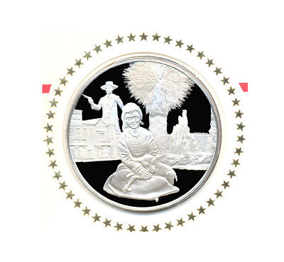 1976 State Of Arizona Franklin Mint Sterling Silver Bicentennial Medal w/FDC