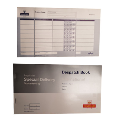 UK Packaging & Shipping Supplies Special Delivery Despatch Book A single Special Delivery despatch book Royal Mail International
