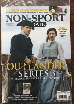 Non-Sport Update & Price Guide Magazine August/september 2018 Issue