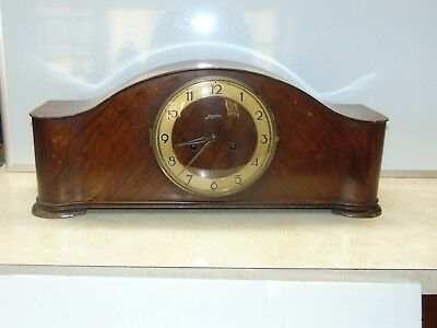 Junghans Vintage Mantle Clock with pendulum W278 Movement