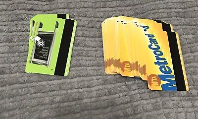 NYC MTA Expired/no Balance METROCARD Lot of 54 For Crafts.