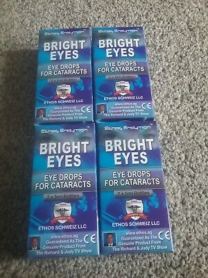 ~~Ethos Bright eyes NAC Eye drops for Cataracts 4 Boxes 40ml~~