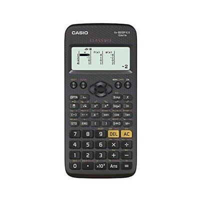 Calculatrice scientifique FX-82 SPX de couleur noire - Calculette