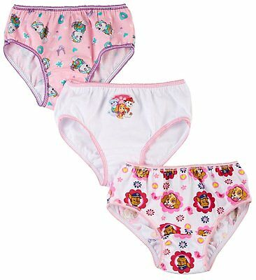 Nickelodeon Paw Patrol 3 Pack Girls' Panties