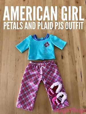 American Girl Petals and Plaid Pjs Outfit (retired)