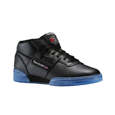 78ce889e66b Reebok Workout Mid Clean Bwi (BLACK STEEL EXCELLENT RED) Men s Shoes BS7447
