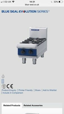Blue Seal Table Top Gas Burner
