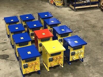10 KVA SITE TRANSFORMERS - BE SAFE BUY NEW - Any Voltage -Any Colour -Low Cost