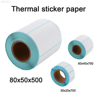 1EF1 Round Waterproof Universal Thermal Fax Paper Thermal Label  Paper